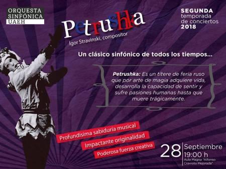 Petrushka revive con la Orquesta Sinfónica de la UAEH 1
