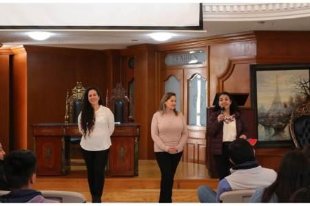 PGR imparte plática de trata de personas en el Centro Hidalguense de Estudios Superiores