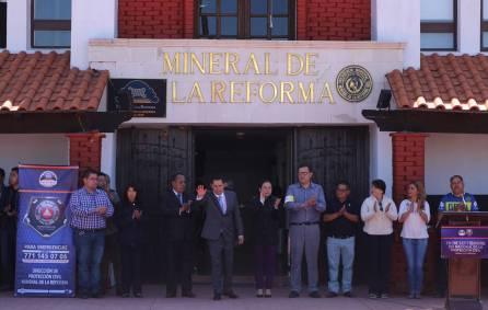 Realiza Mineral de la Reforma simulacro en edificios públicos3
