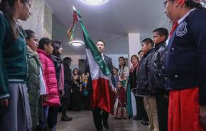 Realiza Raúl Camacho Baños tradicional Grito de Independencia en Pachuquilla, San Guillermo La Reforma y La Higa 1