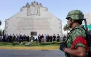 Realizan guardia de honor en conmemoración del 197 Aniversario de la consumación de la Independencia de México2
