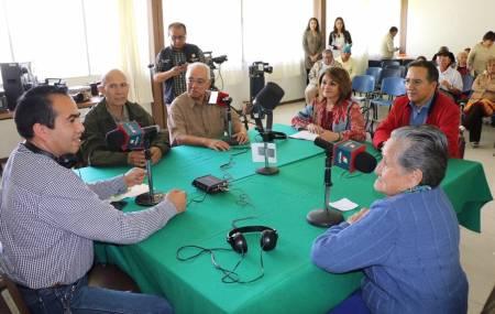 Realizan transmisión en vivo desde las instalaciones de la Casa de la Tercera Edad1