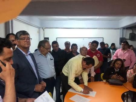 """Resuelven conflicto en Secundaria General No. 1 """"Miguel Hidalgo"""" de Actopan"""