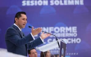 Rinde Raúl Camacho Baños Segundo Informe de Gobierno 9