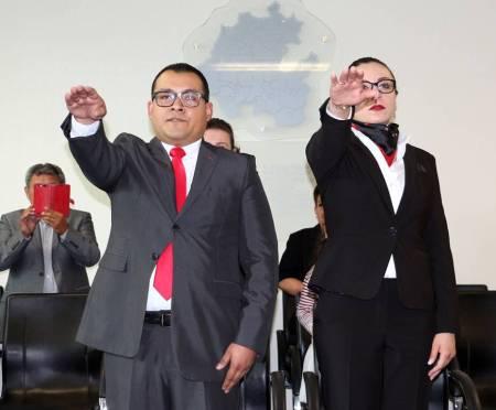 Rinden protesta dos nuevos jueces del Sistema Acusatorio y Oral2