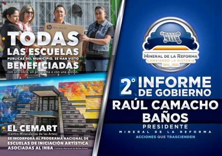 Segundo Informe de Gobierno de Raúl Camacho Baños, presidente municipal de Mineral de la Reforma3.jpg