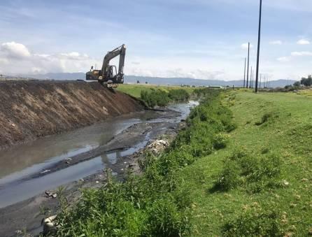 SOPOT continúa con los trabajos de desazolve y mantenimiento en el Río de las Avenidas4