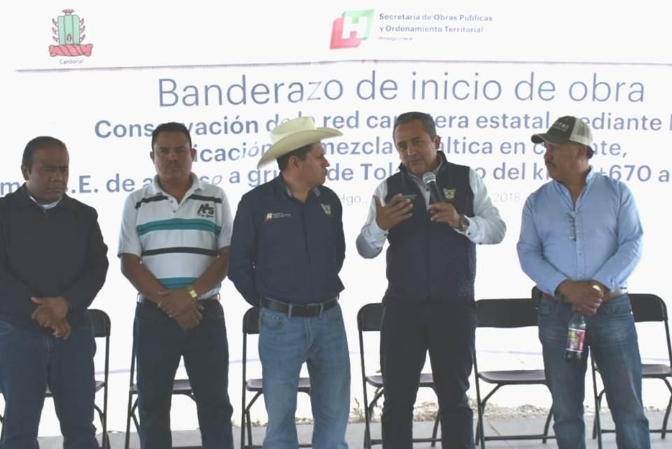 SOPOT inicia con los trabajos de acceso a Grutas de Tolantongo