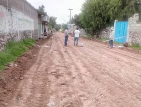 SOPOT interviene calle en la localidad de Xochitlán de las Flores1