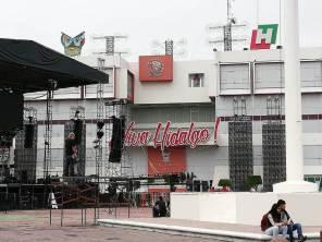 Todo listos en Plaza Juárez para la noche mexicana 3