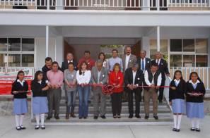 Acude titular de SEPH a celebración del 49 aniversario de Secundaria Luis Guzmán Torres de Tasquillo