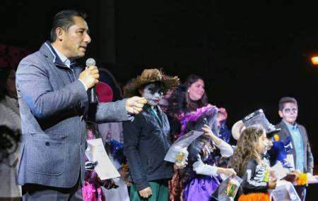 Alistan Festival de Día de Muertos en Pachuquilla 1