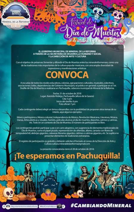 Alistan Festival de Día de Muertos en Pachuquilla 2