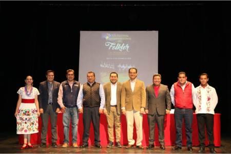 Anuncian el XX Festival Internacional del Folklor de Hidalgo 2018-2