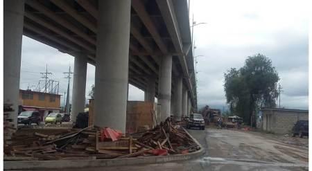 Apertura inminente del Puente Teocalco, dijo Ricardo Baptista González