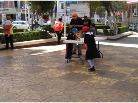 """Arranca """"Caravana por el planeta"""" en Santiago Tulantepec"""