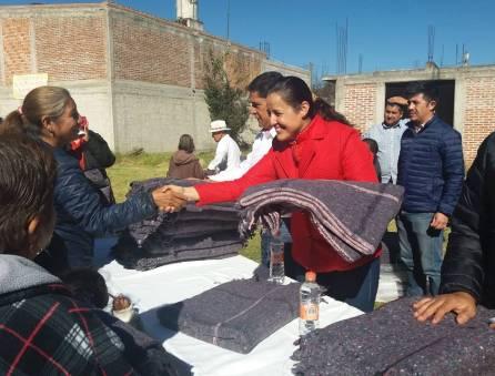 """Arranca programa plan invernal """"Abrigo 2018"""" en Santiago Tulantepec1"""