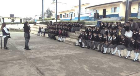 Brinda Policía Estatal dinámicas de prevención en 32 escuelas de San Agustín Metzquititlán