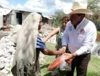 Campesinos de Tepehuacán de Guerrero reciben apoyo1