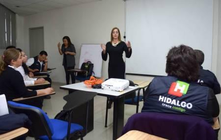 """Capacitan a """"videovigilantes"""" de la estrategia Hidalgo Seguro1"""