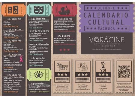 Cartelera cultural segunda quincena de octubre