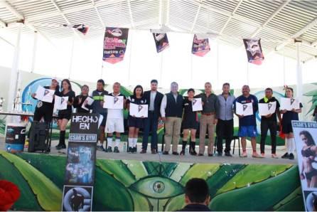 """Concluye con éxito primer prueba deportiva """"Por Nuestra Patria""""4"""