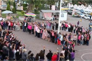 Conmemoran en Tizayuca el Día Internacional de la Lucha contra el Cáncer de Mama