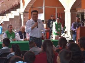 Daniel Jiménez realizó gira de trabajo por Chapantongo3