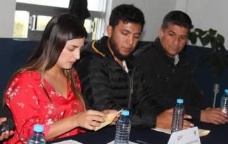 Daniela Campuzano, Alejandra Romero y Nabor Castillo, ganadores del PED 2018 2
