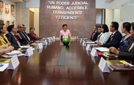 Dialogan sobre oralidad magistrados de Hidalgo y la CdMx