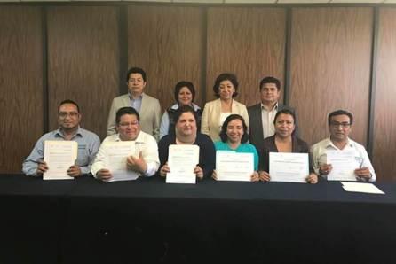 Docentes del ITSOEH obtienen reconocimiento y apoyo por la calidad de su productividad académica