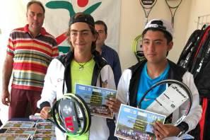 Dupla hidalguense conquistó el primer lugar en torneo de tenis2