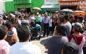 Etapa de pavimentación en Bulevar La Cruz en el Fraccionamiento Haciendas de Tizayuca1