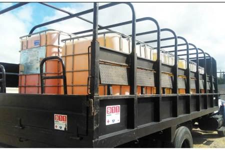 Fuerza Especial Conjunta asegura 87 mil litros de hidrocarburo en Zimapán