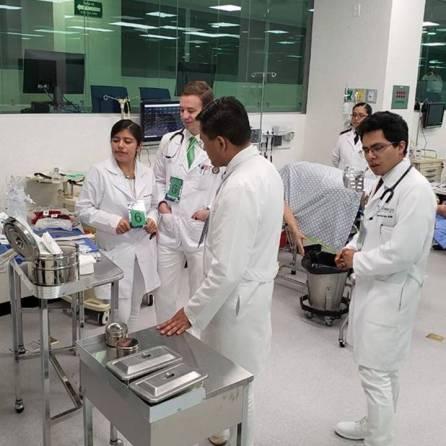 Ganan estudiantes de UAEH 1er Rally en Atención Médica por Simulación1
