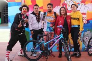 """Gran convivencia en el """"Bici-tando tu feria"""""""