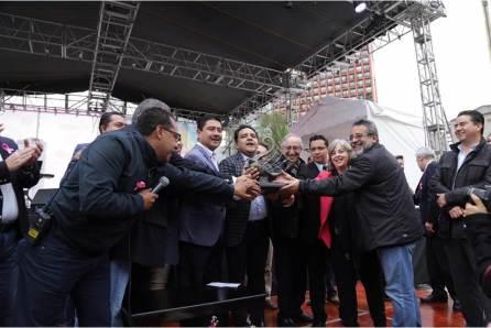 Hidalgo recibió estafeta para celebrar el 7° Festival Nacional del Conocimiento4