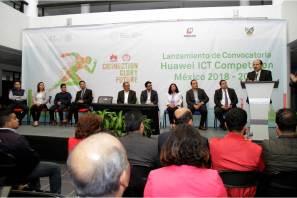 """Hidalgo y la UPMH sedes del lanzamiento nacional de la convocatoria """"ICT Skills Competition 2018"""" de Huawei"""