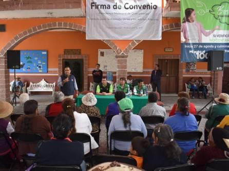 IAAMEH firma convenio de colaboración y realiza audiencias públicas en Chapantongo2