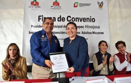 IAAMEH realizó gira de trabajo por Cuautepec de Hinojosa1