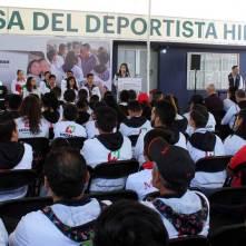 Inauguran la Casa del Deportista Hidalguense