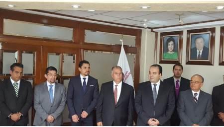 Inicia gestión como ombudsman hidalguense, Alejandro Habib Nicolás