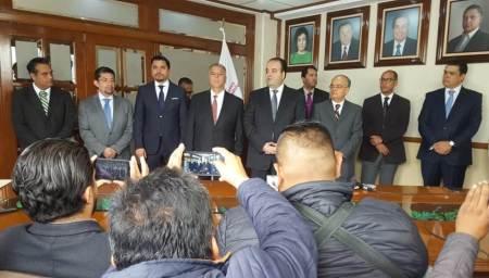 Inicia gestión como ombudsman hidalguense, Alejandro Habib Nicolás2