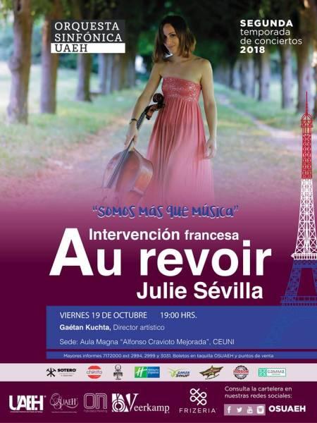Julie Sévilla interpretará a Schumann con la OSUAEH .jpg