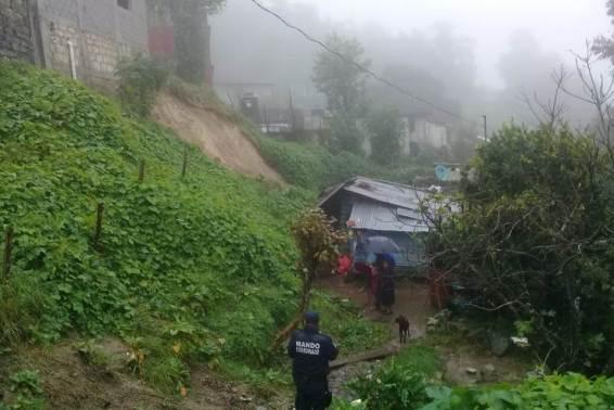 Lluvias causan daños en municipios de la sierra de Molango5