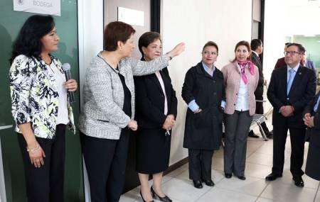 Magistrada Blanca Sánchez inaugura nueva Coordinación de Actuarios2