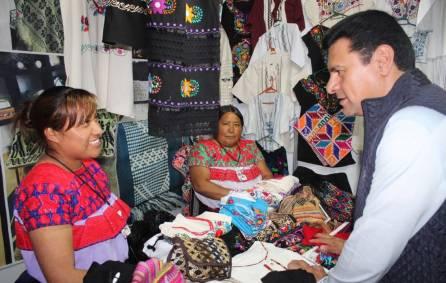 Más de 200 artesanos exponen en el Pabellón Artesanal de la Feria Pachuca Hidalgo 20183