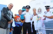 Más de mil personas en carrera por el 50 aniversario de los Juegos Olímpicos México 68 3