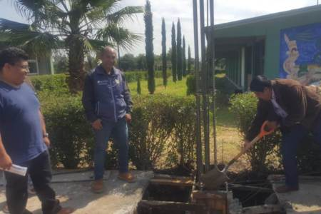 Mejora SOPOT instalaciones de COBAEH en Tezontepec de Aldama
