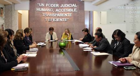 Participa TSJEH en proyecto de cooperación técnica entre México y España